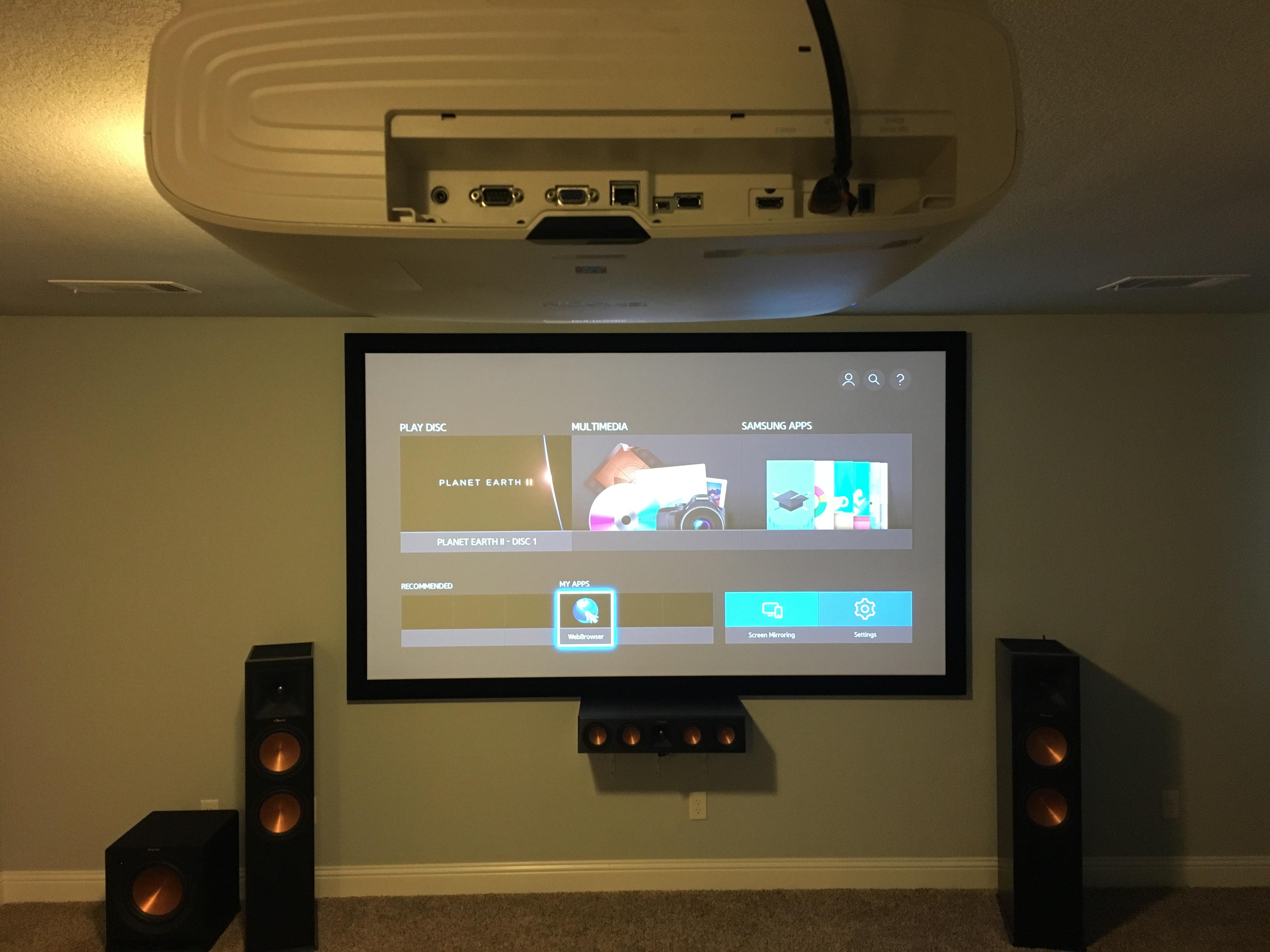 Media Room  U2013 Audio Visual Up